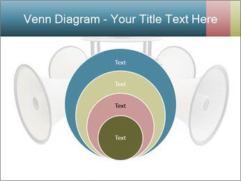 City Megaphone PowerPoint Template - Slide 34