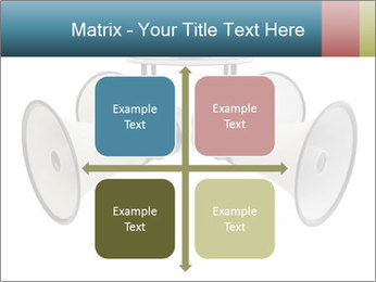 City Megaphone PowerPoint Template - Slide 37