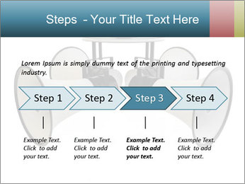 City Megaphone PowerPoint Template - Slide 4