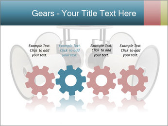 City Megaphone PowerPoint Template - Slide 48