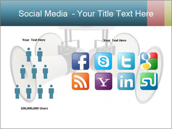 City Megaphone PowerPoint Template - Slide 5