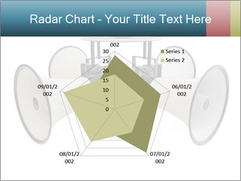 City Megaphone PowerPoint Template - Slide 51
