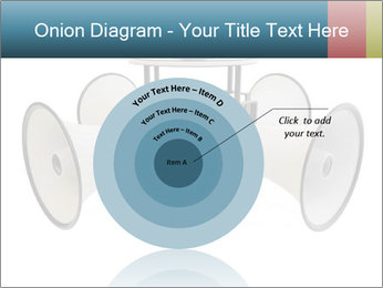 City Megaphone PowerPoint Template - Slide 61