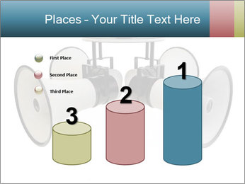 City Megaphone PowerPoint Template - Slide 65