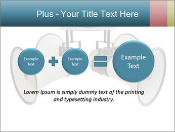 City Megaphone PowerPoint Template - Slide 75