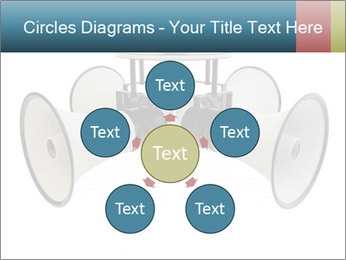 City Megaphone PowerPoint Template - Slide 78