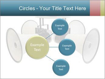 City Megaphone PowerPoint Template - Slide 79