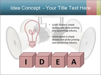 City Megaphone PowerPoint Template - Slide 80