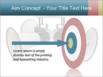 City Megaphone PowerPoint Template - Slide 83