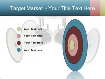City Megaphone PowerPoint Template - Slide 84