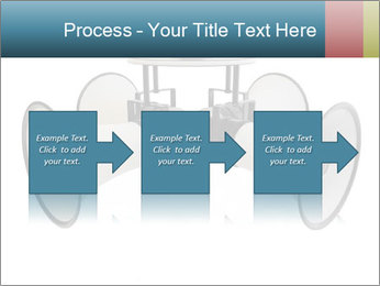 City Megaphone PowerPoint Template - Slide 88