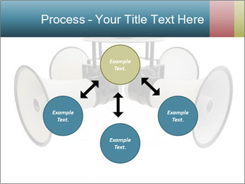 City Megaphone PowerPoint Template - Slide 91