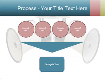 City Megaphone PowerPoint Template - Slide 93