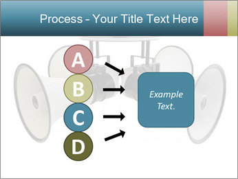 City Megaphone PowerPoint Template - Slide 94
