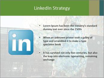 Urban Woman Wearing Dress PowerPoint Template - Slide 12