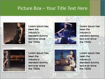 Urban Woman Wearing Dress PowerPoint Template - Slide 14