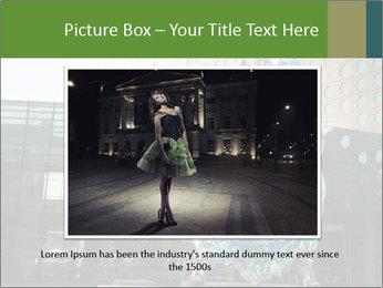 Urban Woman Wearing Dress PowerPoint Template - Slide 15