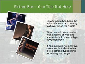 Urban Woman Wearing Dress PowerPoint Template - Slide 17