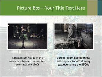 Urban Woman Wearing Dress PowerPoint Template - Slide 18