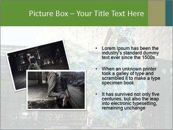 Urban Woman Wearing Dress PowerPoint Template - Slide 20