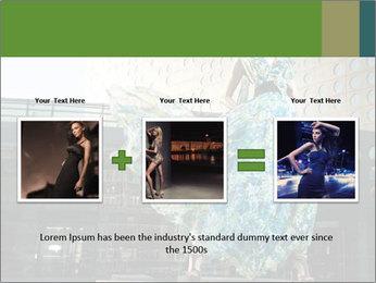 Urban Woman Wearing Dress PowerPoint Template - Slide 22