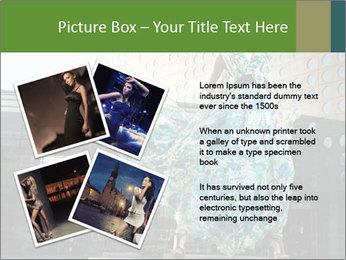 Urban Woman Wearing Dress PowerPoint Template - Slide 23