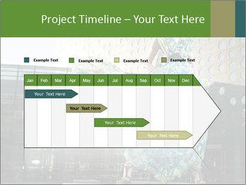 Urban Woman Wearing Dress PowerPoint Template - Slide 25