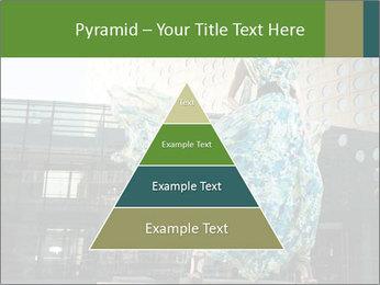 Urban Woman Wearing Dress PowerPoint Template - Slide 30