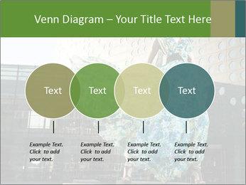 Urban Woman Wearing Dress PowerPoint Template - Slide 32