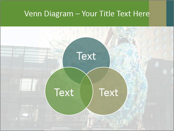 Urban Woman Wearing Dress PowerPoint Template - Slide 33