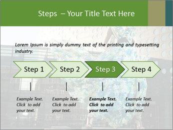 Urban Woman Wearing Dress PowerPoint Template - Slide 4