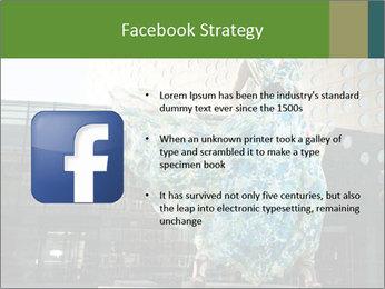 Urban Woman Wearing Dress PowerPoint Template - Slide 6
