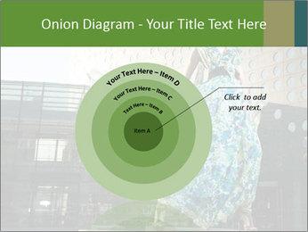 Urban Woman Wearing Dress PowerPoint Template - Slide 61
