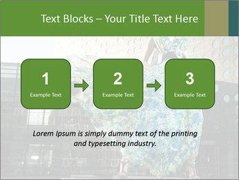 Urban Woman Wearing Dress PowerPoint Template - Slide 71