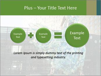 Urban Woman Wearing Dress PowerPoint Template - Slide 75