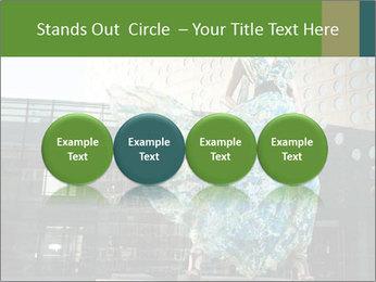 Urban Woman Wearing Dress PowerPoint Template - Slide 76