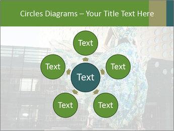 Urban Woman Wearing Dress PowerPoint Template - Slide 78
