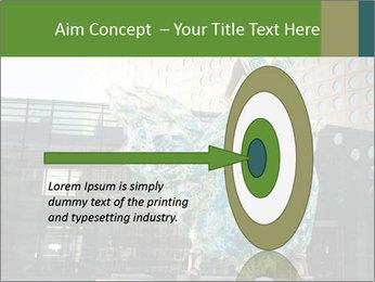 Urban Woman Wearing Dress PowerPoint Template - Slide 83