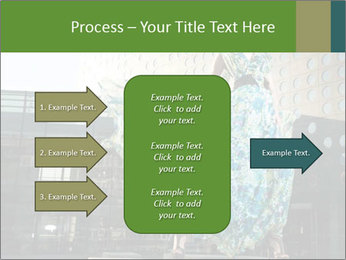Urban Woman Wearing Dress PowerPoint Template - Slide 85