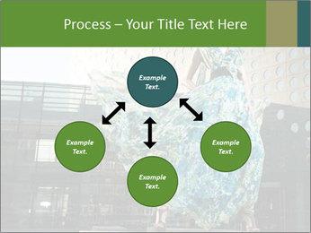Urban Woman Wearing Dress PowerPoint Template - Slide 91