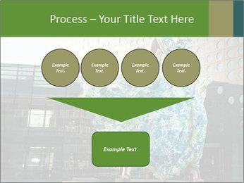 Urban Woman Wearing Dress PowerPoint Template - Slide 93