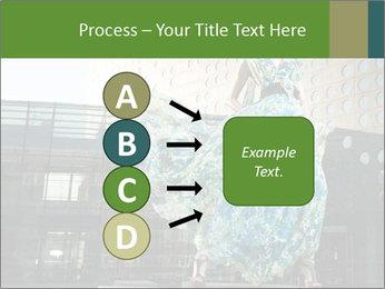 Urban Woman Wearing Dress PowerPoint Template - Slide 94