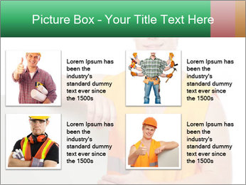 Young Workman PowerPoint Templates - Slide 14