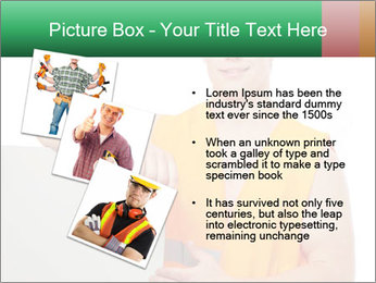 Young Workman PowerPoint Templates - Slide 17