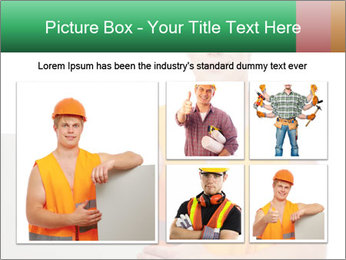 Young Workman PowerPoint Templates - Slide 19