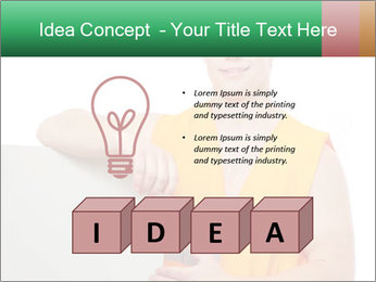 Young Workman PowerPoint Templates - Slide 80