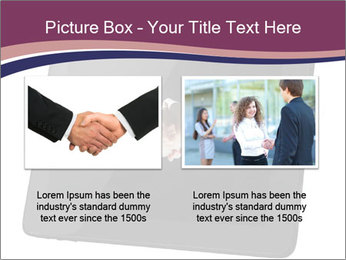 Tabley with Handshake Image PowerPoint Templates - Slide 18
