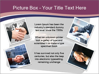 Tabley with Handshake Image PowerPoint Templates - Slide 24