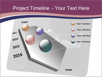 Tabley with Handshake Image PowerPoint Templates - Slide 26