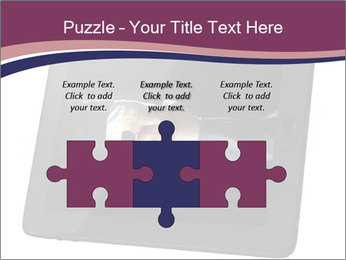 Tabley with Handshake Image PowerPoint Templates - Slide 42